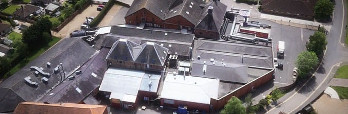 Warners Group plc Aerial Photograph
