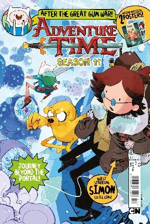Adventure Time Magazine Cover