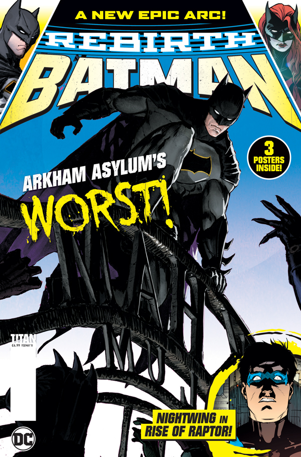 Batman Rebirth Magazine Cover