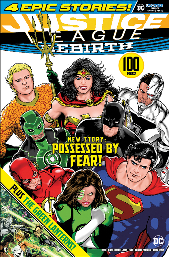 DC Universe Presents Magazine Cover